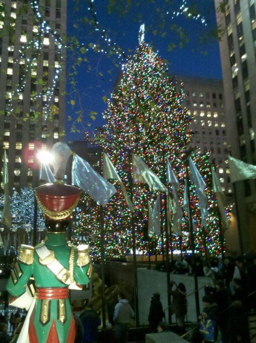 New York dressed up for the holidays by Mary Craig